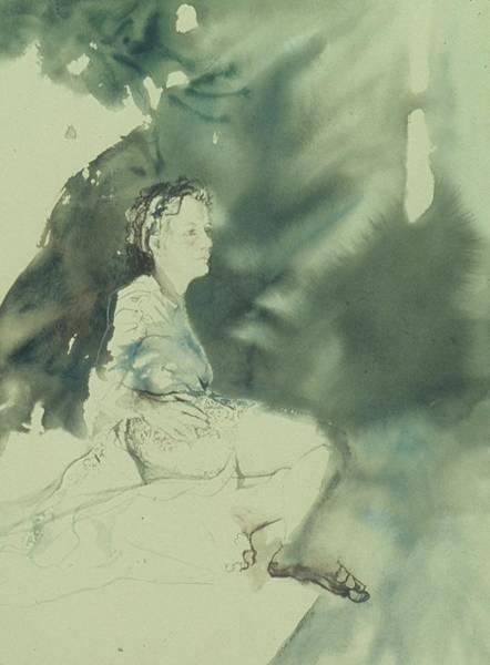 Annunciation Art Print by Chae Min Shim