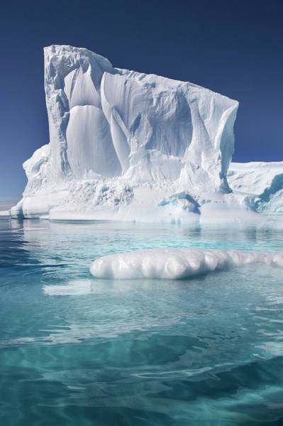 Wall Art - Photograph - Antarctic Iceberg by Steve Allen/science Photo Library