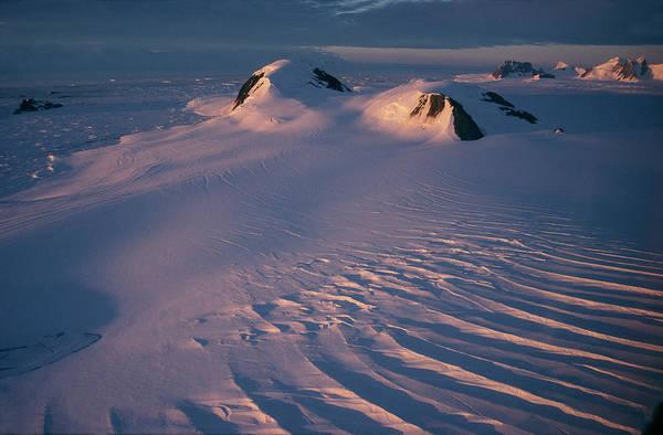 Wall Art - Photograph - Antarctic Midnight Sun by British Antarctic Survey/science Photo Library