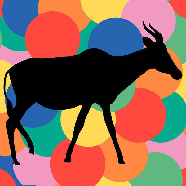 Vertebrate Painting - Antilope by Celestial Images