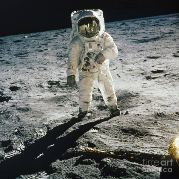 Photograph - Apollo 11 - Buzz Aldrin by Granger