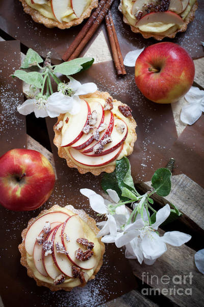 Wall Art - Photograph - Apple Tartlets by Kati Finell