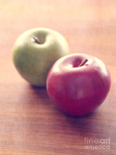 Green Apple Photograph - Apples by Edward Fielding