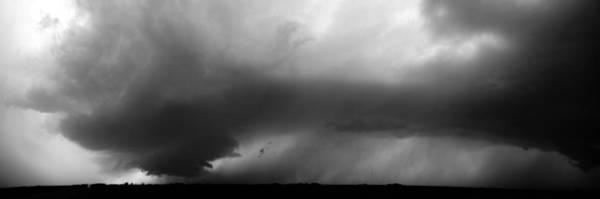 Photograph - Approaching Wall Cloud Axtell Nebraska by NebraskaSC