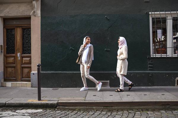Arab Youth In Paris - Middle Eastern Millennials Art Print by LeoPatrizi