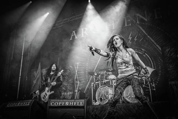 Concert Photograph - Arch Enemy by Stefan Nielsen
