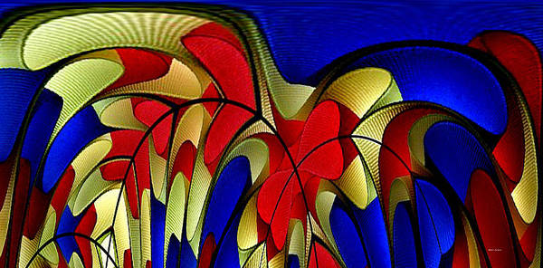Digital Art - Arches by Rafael Salazar