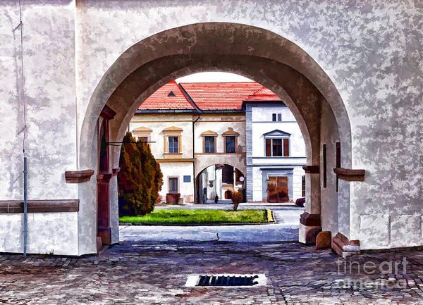 Photograph - Archways  by Les Palenik