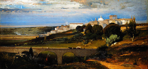 Painting - Ariccia by Celestial Images