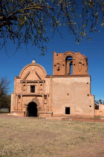 Franciscan Photograph - Arizona, Tumacacori National Historic by Peter Hawkins