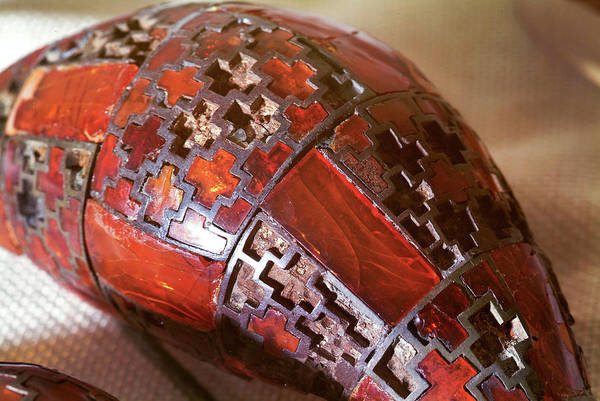 Saint Augustine Photograph - Armour For An Iron Age Ruler by Marco Ansaloni / Science Photo Library