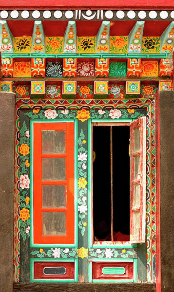 Ancient Architecture Photograph - Art In Buddhist Monastery Architecture by Jaina Mishra