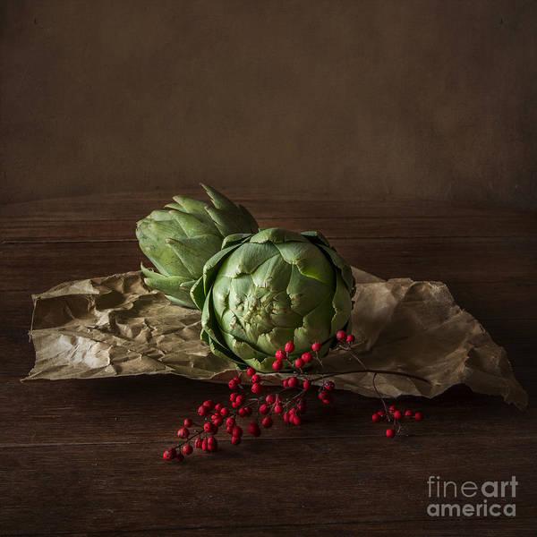 Artichokes Wall Art - Photograph - Artichokes by Elena Nosyreva