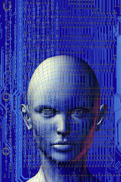 Wall Art - Photograph - Artificial Intelligence by Carol & Mike Werner/science Photo Library