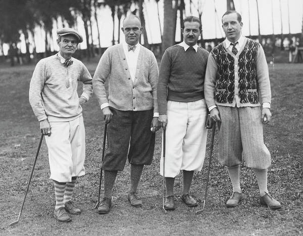 Photograph - Artists And Writers Tournament by Underwood Archives