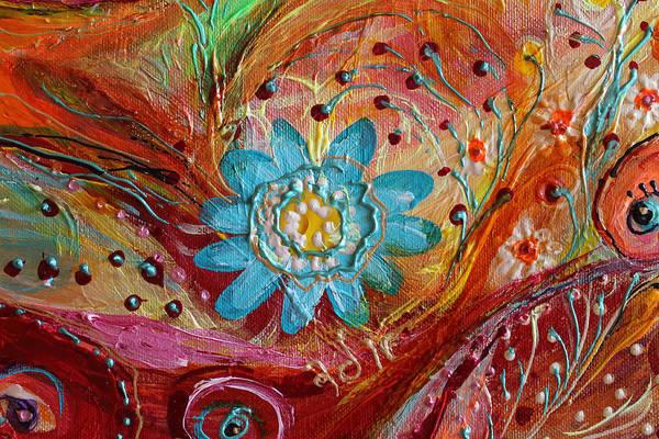 Wall Art - Painting - Artwork Fragment 97 by Elena Kotliarker