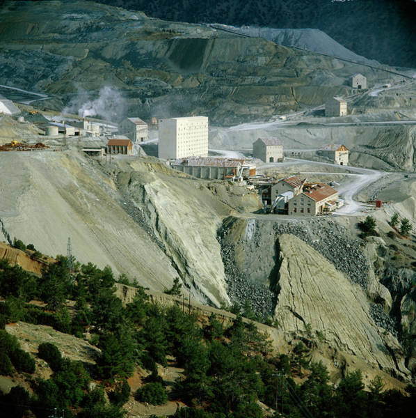 Wall Art - Photograph - Asbestos Mine In Cyprus by Alex Bartel/science Photo Library