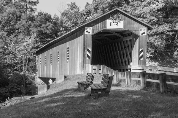 Photograph - Ashtabula Collection - Creek Road Bridge 7k01969    by Guy Whiteley
