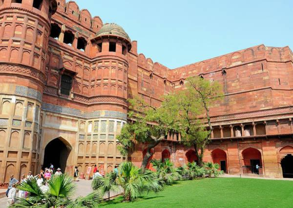 Roxbury Wall Art - Photograph - Asia, India, Uttar Pradesh, Agra by Steve Roxbury