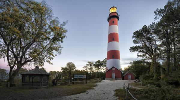 Virginia Lighthouse Photograph - Assateague Lighthouse by Robert Fawcett