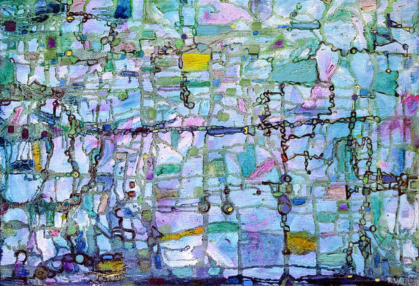 Interaction Painting - Associations by Regina Valluzzi