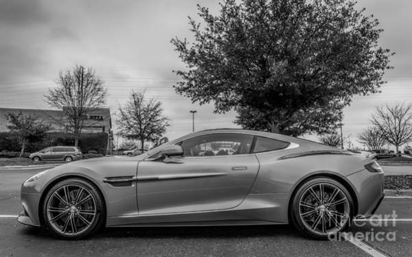 Carbon Fiber Photograph - Aston Martin Vanquish V12 Coupe by Robert Loe