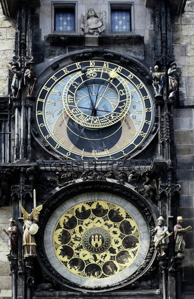 Wall Art - Photograph - Astronomical Clock by Steve Allen/science Photo Library