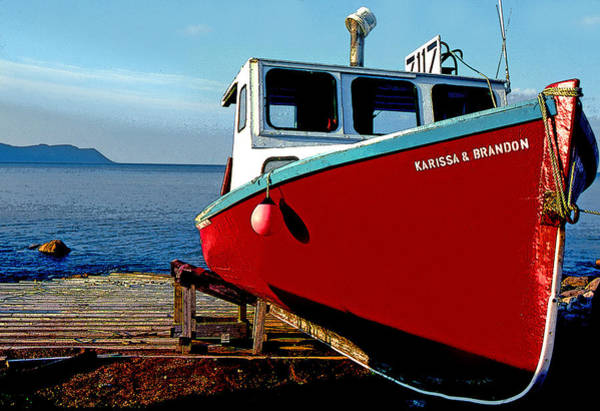 Cabot Trail Photograph - At Rest by Mike Flynn