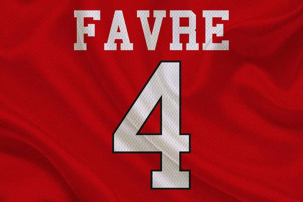 Brett Wall Art - Photograph - Atlanta Falcons Brett Favre by Joe Hamilton