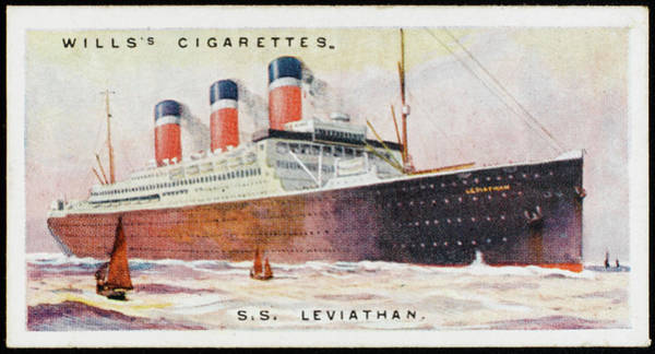 1924 Drawing - Atlantic Liner Of The United States by Mary Evans Picture Library