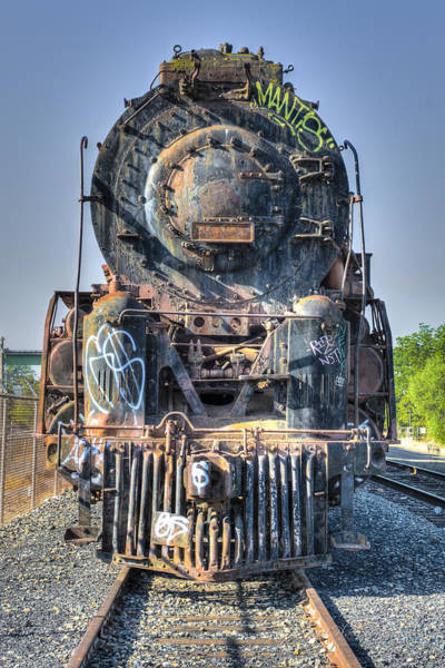 Photograph - Atsf 2925 In Repose by Jim Thompson