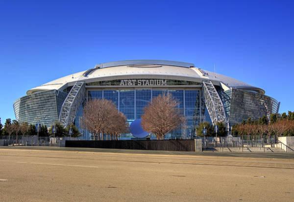 Dallas Cowboys Photograph - Att Stadium 5 by Ricky Barnard