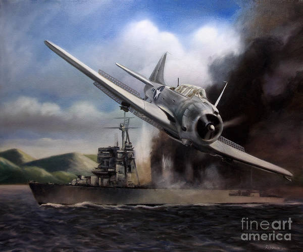 Sbd Wall Art - Painting - Attack On The Yura by Stephen Roberson