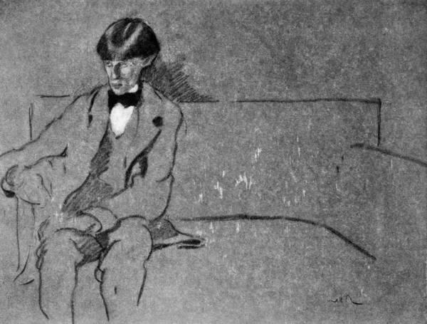 Aubrey Drawing - Aubrey Vincent Beardsley (1872-1898) by Granger