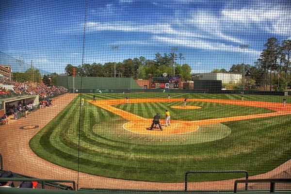 College Baseball Photograph - Auburn Tigers Baseball by Mountain Dreams
