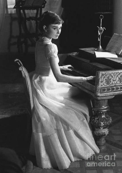 Notable Photograph - Audrey Hepburn by George Daniell