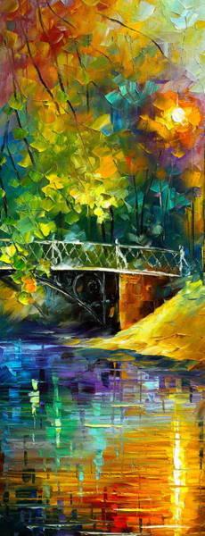Wall Art - Painting - Aura Of Autumn 3 by Leonid Afremov