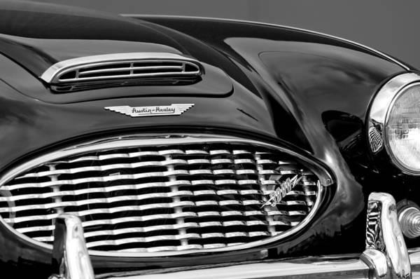 Healey Photograph - Austin-healey 3000 Grille Emblem by Jill Reger