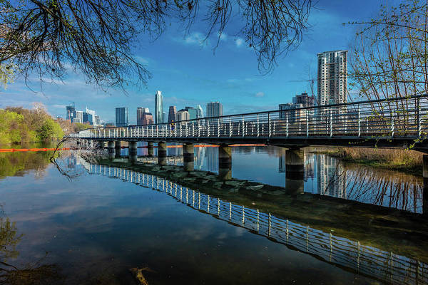 Wall Art - Photograph - Austin Skyline And Lady Bird Lake - by Panoramic Images