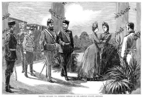Wall Art - Painting - Austria Royal Meeting, 1885 by Granger
