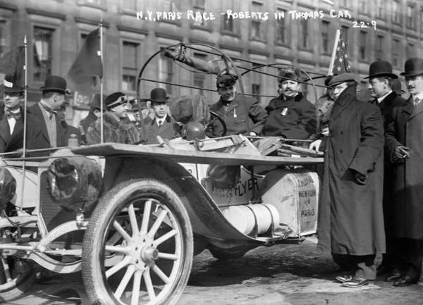 Photograph - Automobile Race, 1908 by Granger