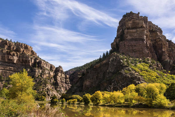 Wall Art - Photograph - Autumn In Glenwood Canyon - Colorado by Brian Harig