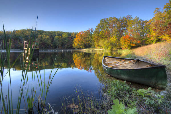 Ocoee Wall Art - Photograph - Autumn Lake by Debra and Dave Vanderlaan