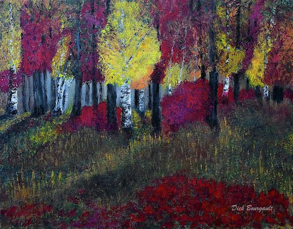 Autumn Peak Art Print