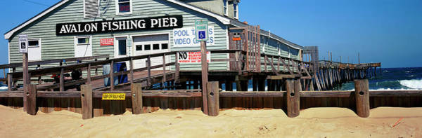 Wall Art - Photograph - Avalon Fishing Pier On The Beach, Kill by Panoramic Images