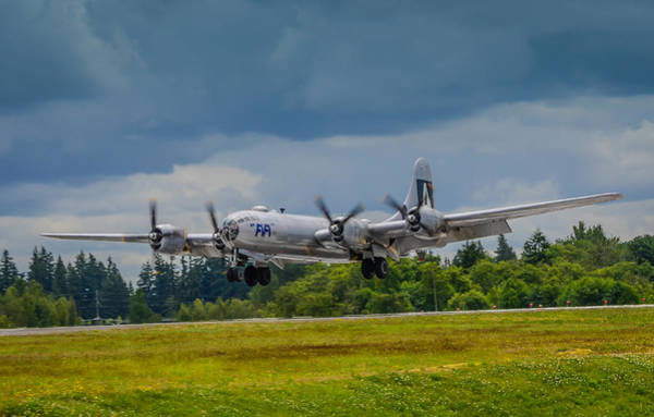 Superfortress Photograph - B-29 Superfortress  by Puget  Exposure