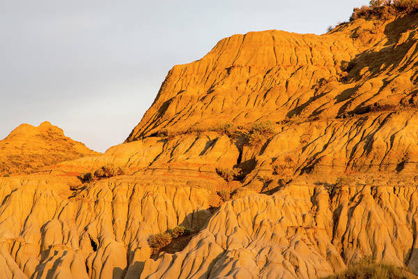 North Dakota Badlands Wall Art - Photograph - Badlands At First Light In Theodore by Chuck Haney