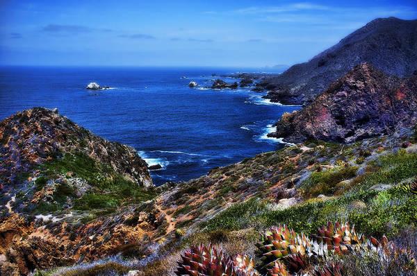Ensenada Photograph - Baja Coast by Hugh Smith