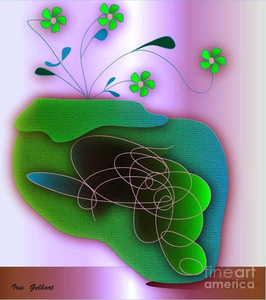 Jug Digital Art - Balance by Iris Gelbart