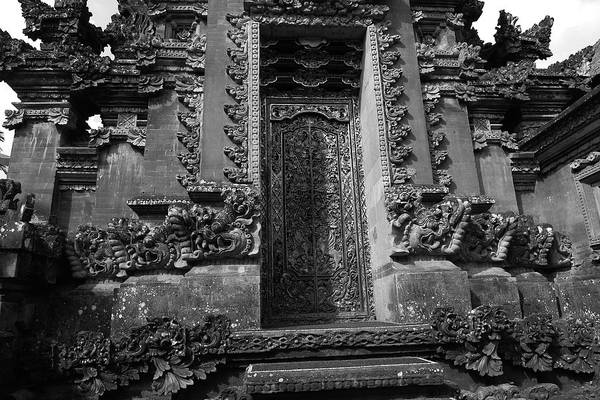 Photograph - Balinese Hindu Temple by August Timmermans